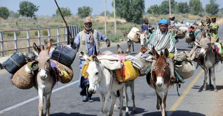 The 100 Military Uniform Clad 'Fulani Herdsmen' Assassin Convoy