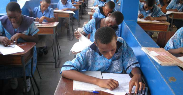 On 2020 Basic Education Certificate Examination (BECE)