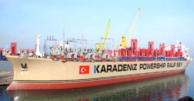 We were never contracted to provide 'emergency' power barges- Karpower