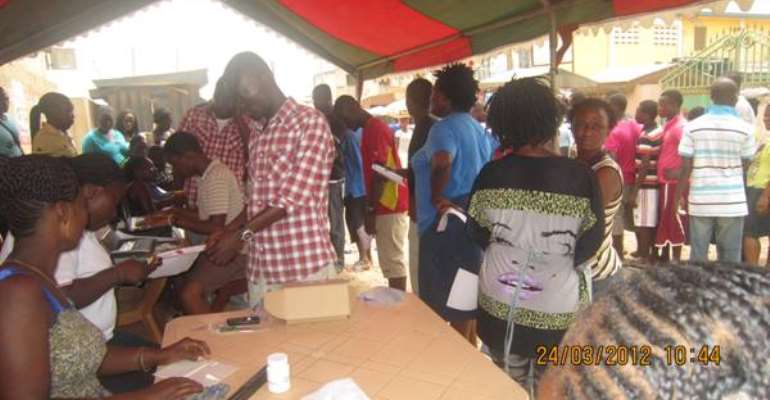 Do not exaggerate registration centre incidents