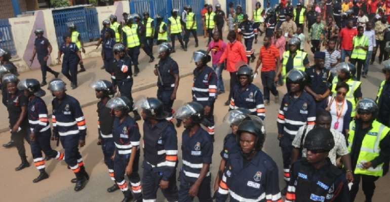 Accra Police commends organised labour