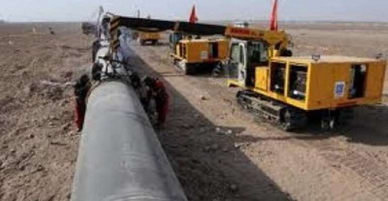Completion date for Ghana gas pipeline project pushed to April 2014