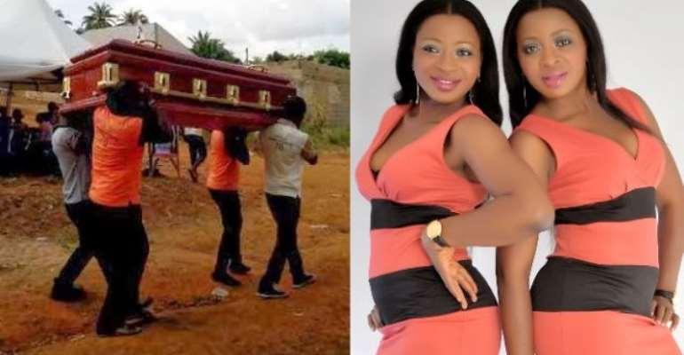 Nollywood Aneke Twins Mourn Step Mum (Photos)