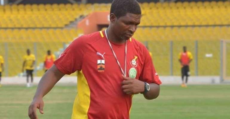 Ghana coach Maxwell Konadu