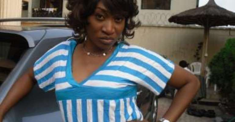 STAR ACTRESS OGE OKOYE'S HUSBAND ABSENT AT CHILD'S BIRTHDAY