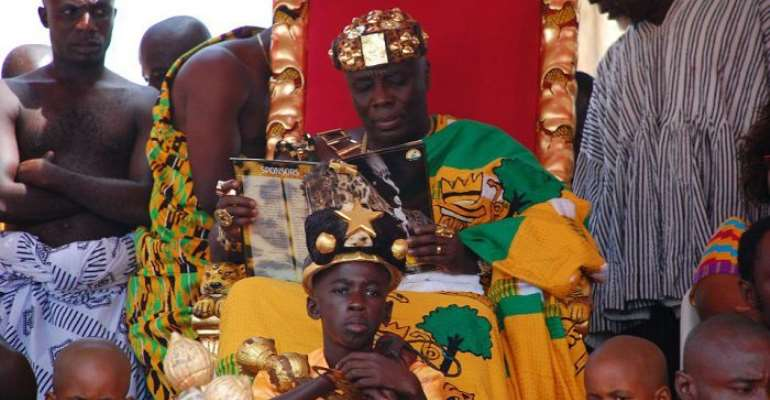 Akyem Youth Want Total Ban Of E/R NDC From Okyehene's Palace