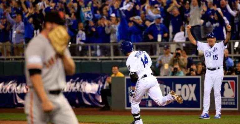 Kansas City Royals respond to level World Series