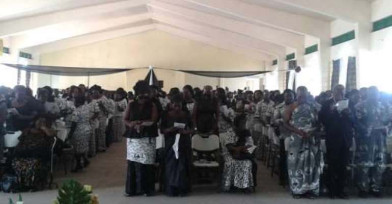 Aburi Girls holds farewell service for Dr Asibey