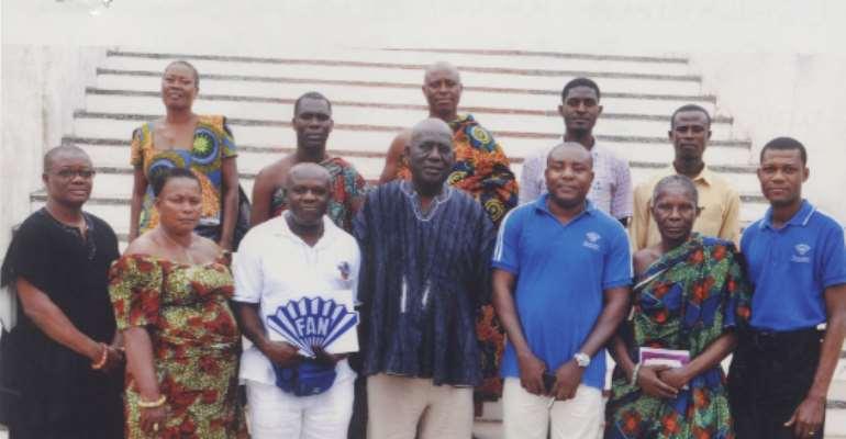 Osabarima Kwesi Atta commends Fan Milk