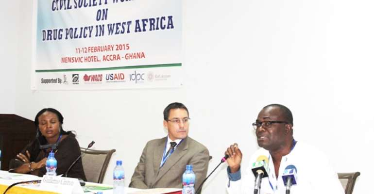 CSOs Workshop On Drug Policy Underway In Accra