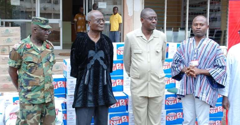 Melcom Group supports GOIL Filling Station disaster victims