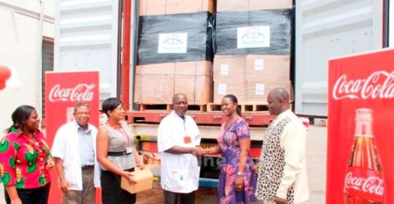 Coca-Cola donates equipment to 3 hospitals
