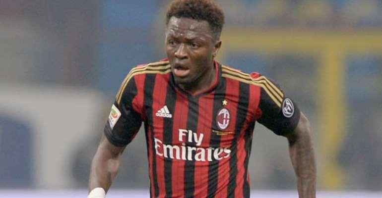 Ghana midfielder Sulley Muntari wants to retire at Italian giants AC Milan