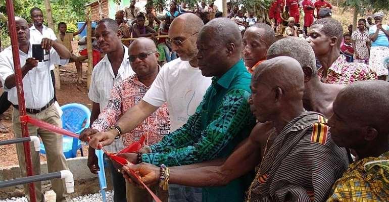 Binatone sponsored project Maji second Rural water plant