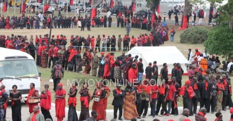 Ministry of Defence commends funeral committee