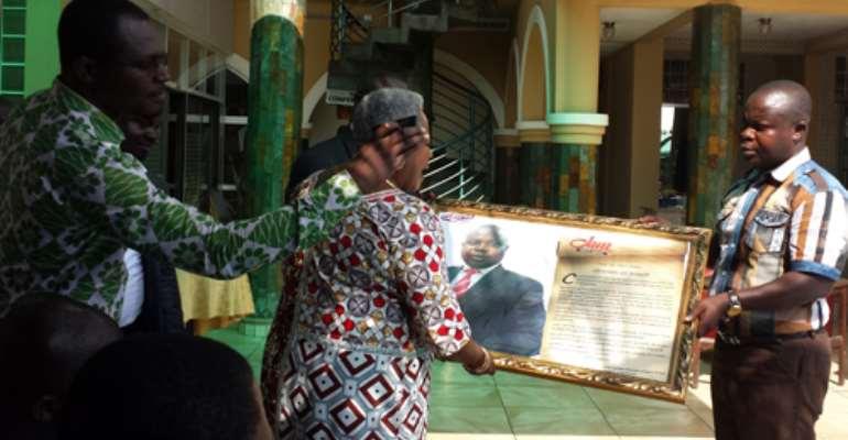 Atinka FM Rewards Kwame Adinkra, Asare Brako