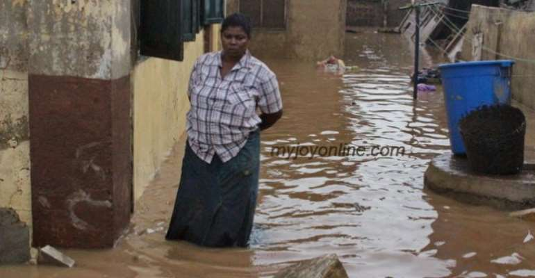 Two dead; over 6000 displaced in Tema floods