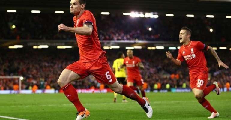Liverpool draw Villarreal for Europa League semi-finals
