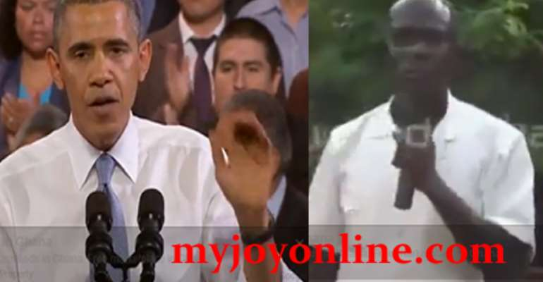 Watch Obama vs Tweeaa DCE: How two politicians respond to heckling