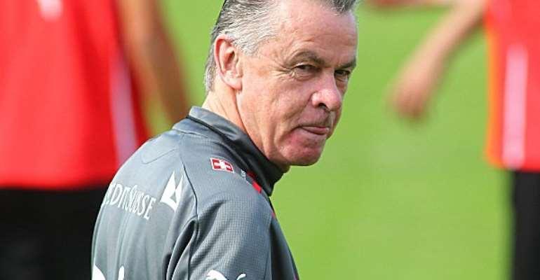 Switzerland coach Ottmar Hitzfeld has ruled himself out of a future coaching job with the Black Stars.