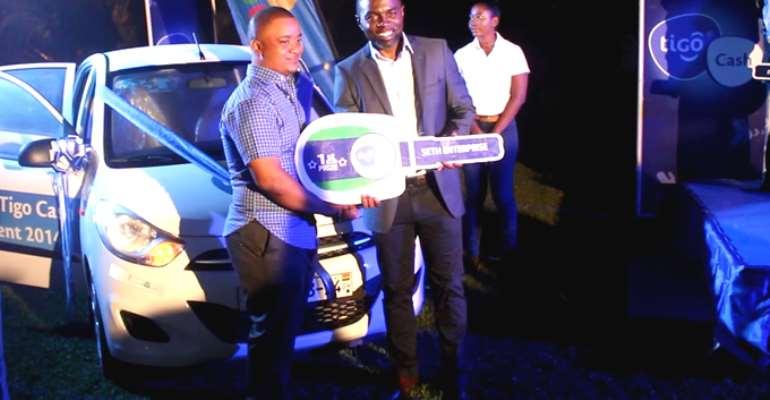 Tigo gives vehicles at mobile financial service agents awards