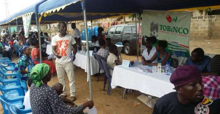 Tobinco Foundation organises medical support for disaster victims
