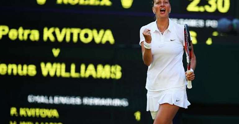 Veteran killing: Petra Kvitova lauds gutsy win over Venus Williams