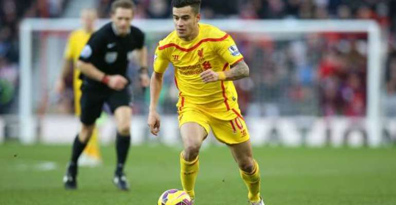 Commitment: Philippe Coutinho pens new Liverpool deal