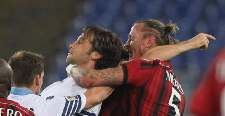 'Red card apology': Milan's Philippe Mexes apologises for red card at Lazio