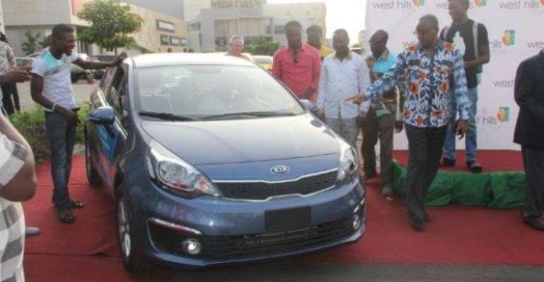 Journalist Wins Car At West Hills Mall