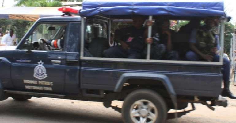 Three rape/robbery gang members nabbed