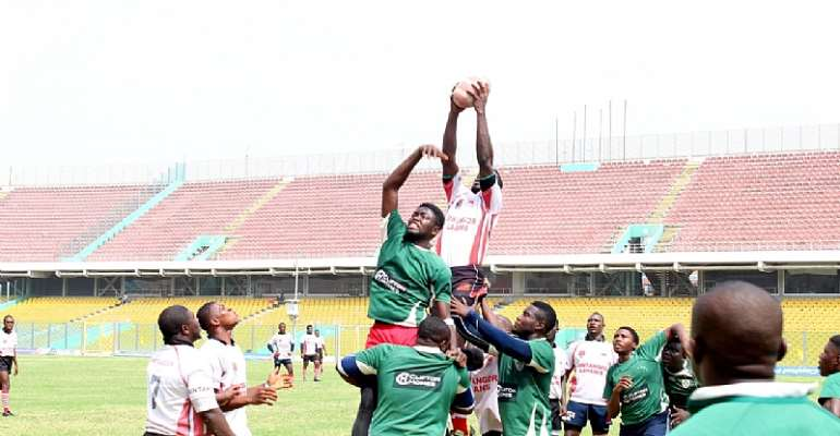 Ghana Rugby Kicks 2016 Off With A Bang