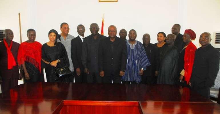 President Mahama promises to continue the better Ghana Agenda