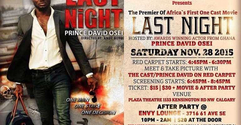 Prince David Osei Set To Embark On Worldwide Tour