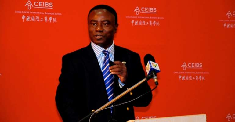 Professor Kwaku Atuahene-Gima ,Executive Director,CEIBS