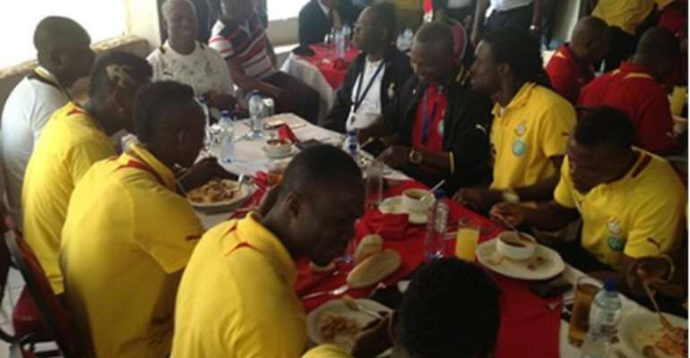 Brazil 2014: Black Stars to camp 25th May in Holland
