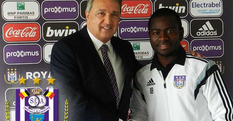 Ghana AFCON star Frank Acheampong signs two-year Anderlecht contract extension