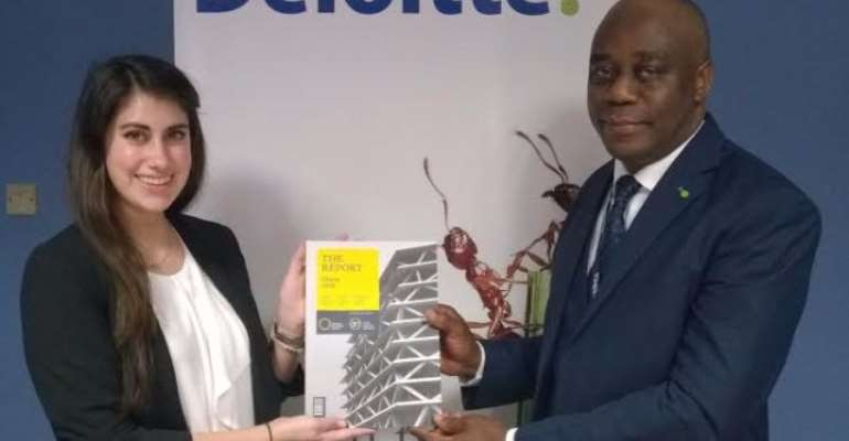 Deloitte signs MOU with Oxford Business Group on Ghana 2017 Report