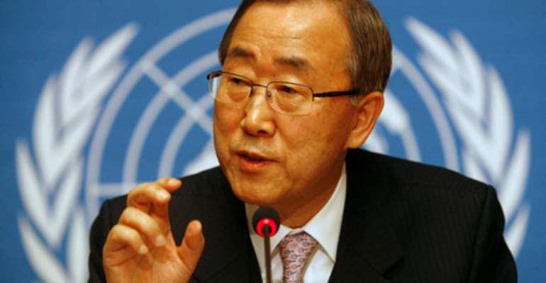 UN Secretary-General, Ban Ki Moon