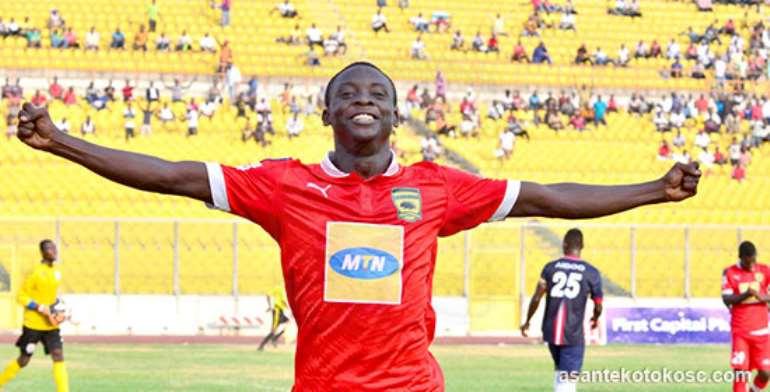 Asante Kotoko forward Dauda Mohammed