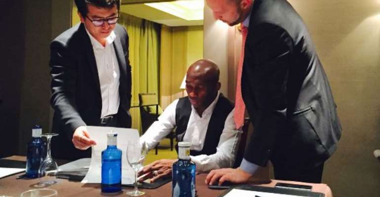 Mbia Leaves Trabzonspor For Chinese Super League Side Hebei China Fortunate FC