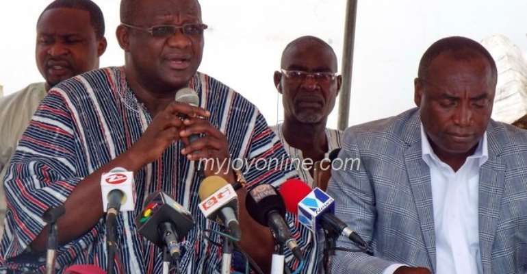 Amoako Tuffuor insists on Afoko, Agyepong exit despite calls to cease fire