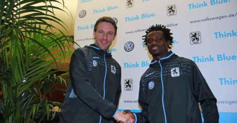 Official: Annan unveiled by German side Munich 1860
