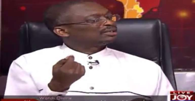 Occupy Flagstaff House demo: Numbers are not always critical- Kweku Baako lashes out