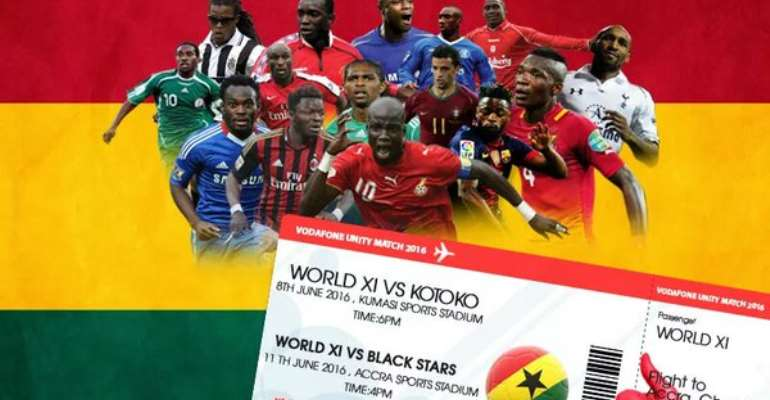 Asamoah Gyan lauds Stephen Appiah's initiative for Peace Cup