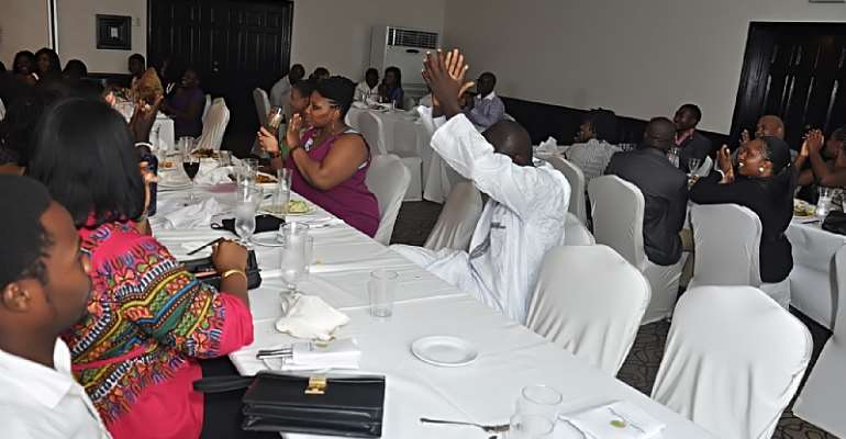 Ghana Executes First-Ever Dining In The Dark Experience!