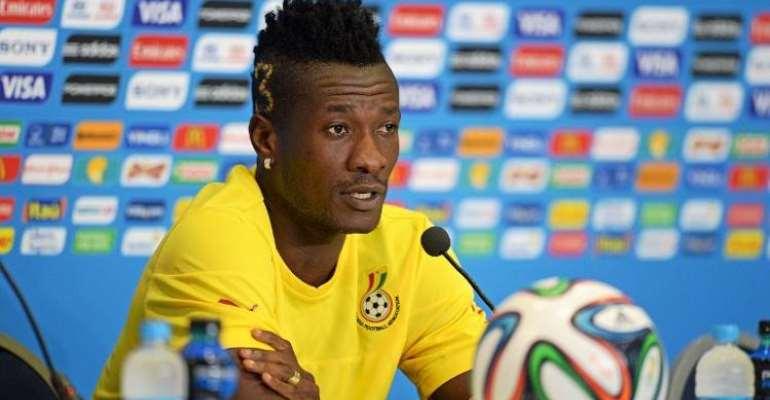 Ghana skipper Asamoah Gyan