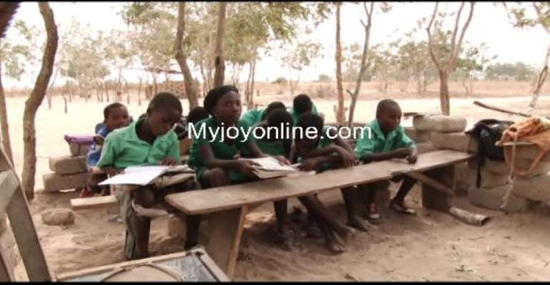 VIDEO REPORT: School at Ada under sheds