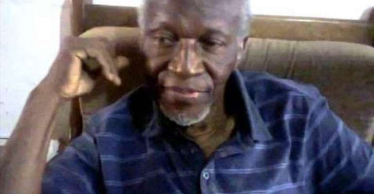 Burial service held for the late C.K. Gyamfi