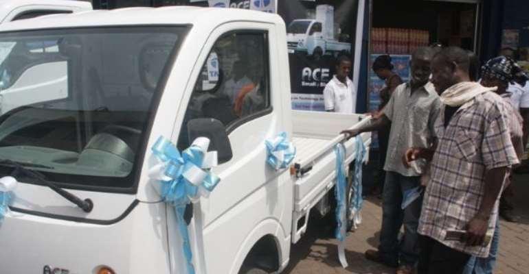 TATA Enters the Mini-Truck Segment in Ghana